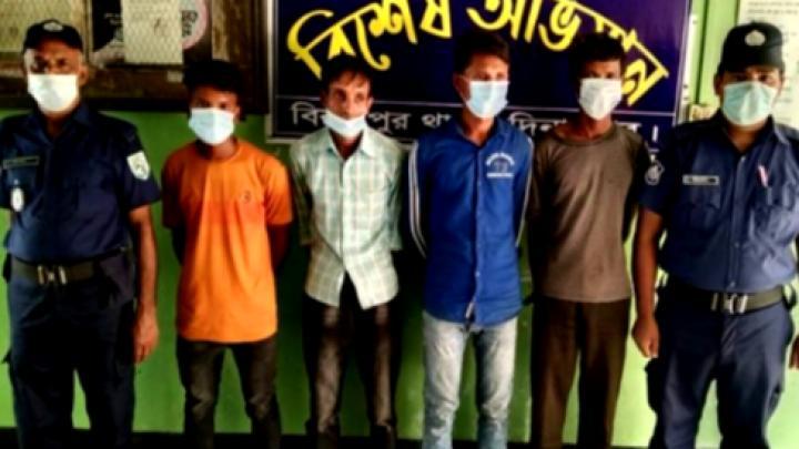 বিনাশ্রম কারাদণ্ড দিয়েছেন ভ্রাম্যমাণ আদালত