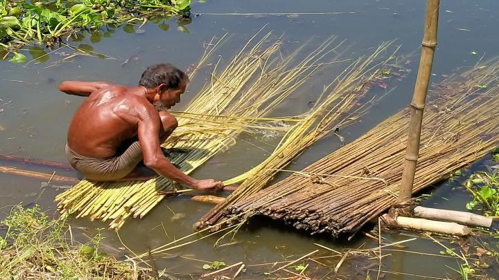 পাটের বাম্পার ফলনে কৃষক খুশি
